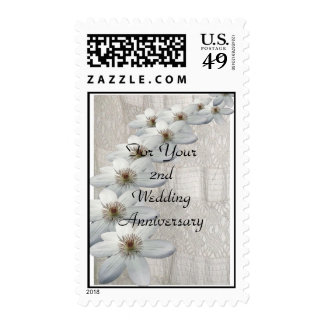Postage - 2nd Wedding Anniversary