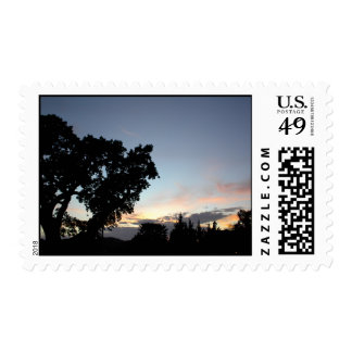 Postage: A Paso Robles, CA Sunset Stamp