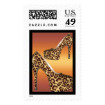 Postage All Occasion Leopard Hi Heel Shoes