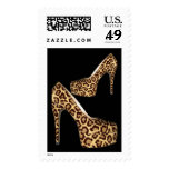 Postage All Occasion Leopard Hi Heel Shoes 2