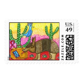 Postage: Armadillo, Rufus McCool Postage Stamp