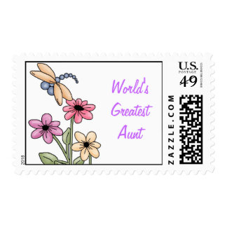 Postage-Aunt-Lucky Penny Stamps