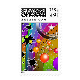 Postage - BIG BANG BLACK HOLES POP ART