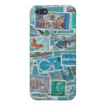 Postage Bleu Collection Case For iPhone 5