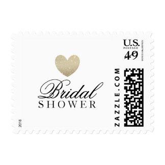 Postage - Bridal Shower Heart Fab