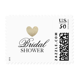 Postage - Bridal Shower Heart Fab