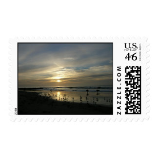Postage Capitola Sunset Beach