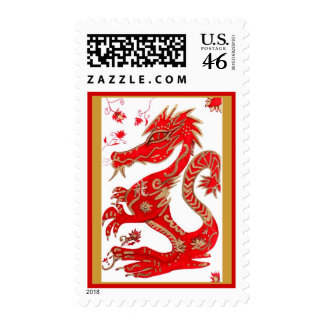 Postage Chinese Year of the Dragon 2012
