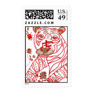Postage, Chinese Zodiac Tiger