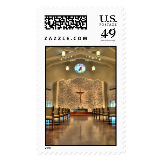Postage - Church Interior