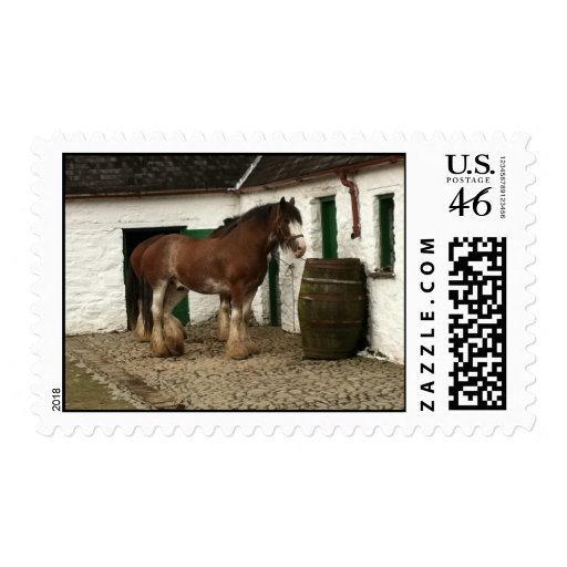 Postage - Clydesdales.