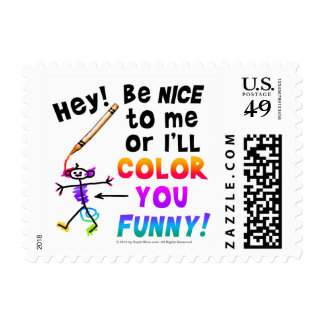 Postage - Color You Funny