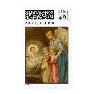 Postage: Come, Little Children Postage Stamp