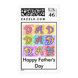 Postage - DAD Pop Art