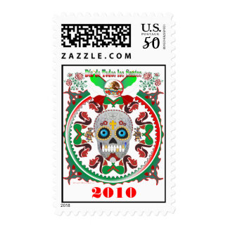 Postage-Day-of-the-Dead-Ver-1, 2010 Postage