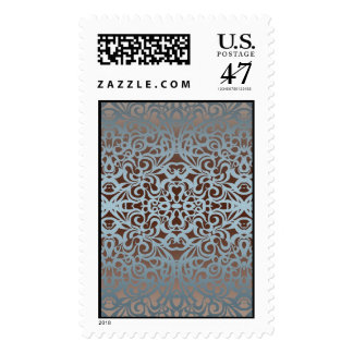 Postage Floral abstract background