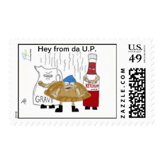 Postage from the U.P.