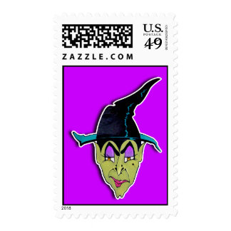 Postage - HALLOWEEN WITCH