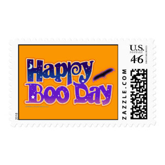 Postage - HAPPY BOO DAY - Halloween