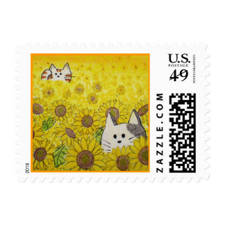 "Postage ""Hide & Seek"" by Paws Here and Shop"