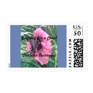 Postage - Journey for a Cure! Diabetes Awareness