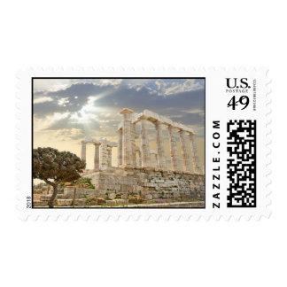 postage landscape Greece
