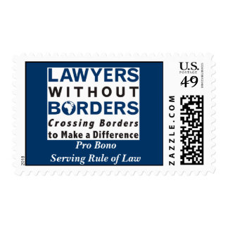 Postage: Lawyers WIthout Borders Stamps