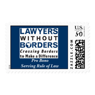 Postage: Lawyers WIthout Borders Postage