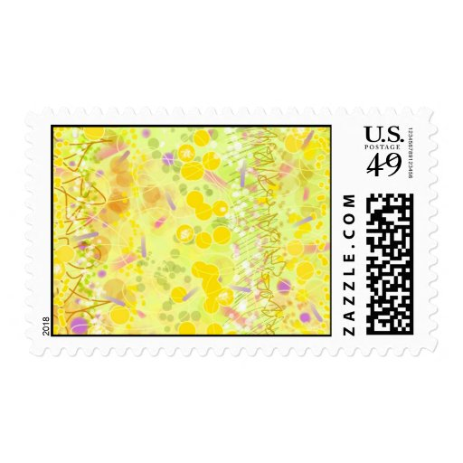 Postage - Lemon Drop Art