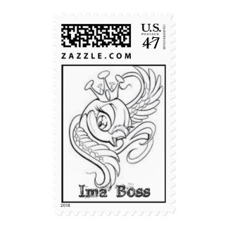 """Postage Made Especially for """"The Boss"""""""
