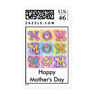 Postage - MOM Pop Art