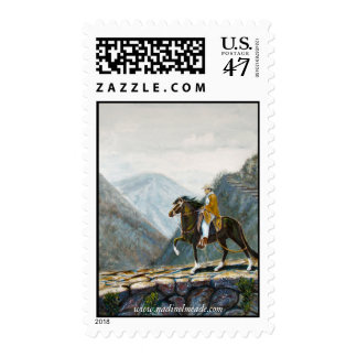 Postage, Peruvian Mountain Trail Rider Postage