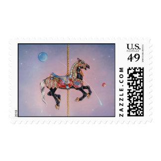 Postage - Petaluma Carousel Horse 1
