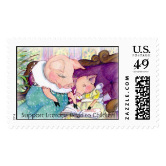 Postage Pigs Lieracy, Support Literacy: Read to...