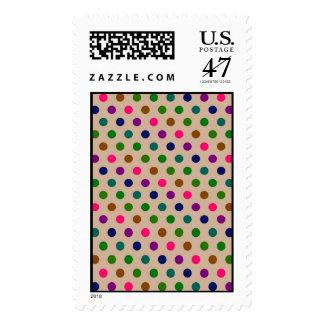 Postage Polka Dots