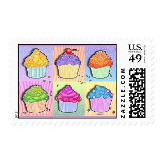 Postage - Pop Art Cupcakes
