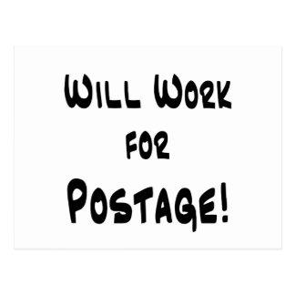 Postage Postcard