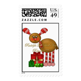 Postage-Rudolph the Red Nose Reindeer