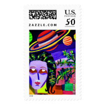 """Postage Sheet """"Mother Earth"""" by MAR"""