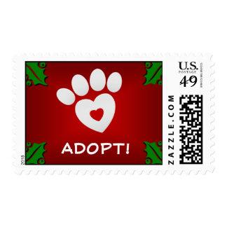 Postage Stamp - Adopt A Pomeranian