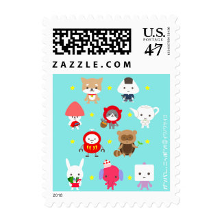 Postage Stamp - All Characters - Star