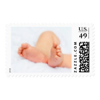 Postage stamp: Baby feet