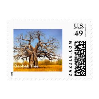 postage stamp baobab tree