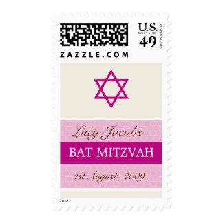 POSTAGE STAMP :: BAT MITZVAH - girl1