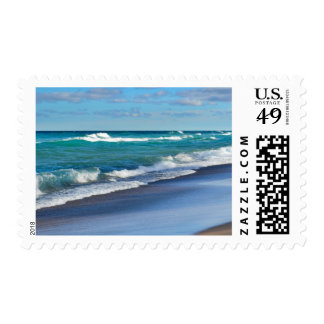 Postage Stamp/Beach