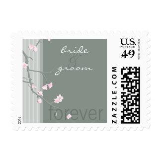 POSTAGE STAMP :: cherry blossom
