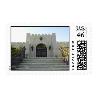 Postage Stamp: Eagle Castle in Paso Robles