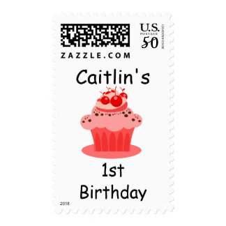 Postage Stamp for Birthdays - Can Personalize