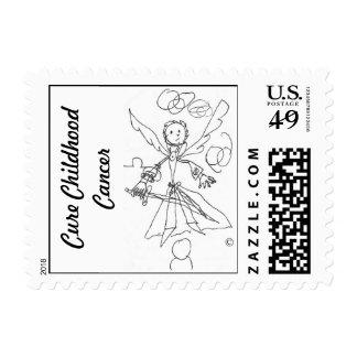 Postage Stamp, Gage's Heaven Worrior