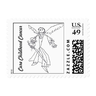 Postage Stamp, Gage's Heaven Worrior 1